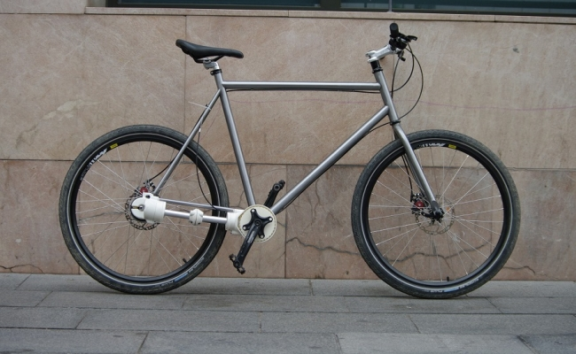 Travel bike for pavment and singletrack